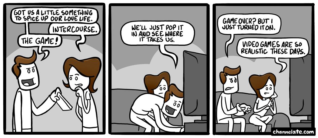 Intercourse: The Game.