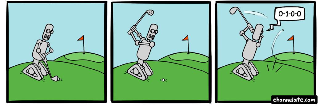 Golfbot4000.