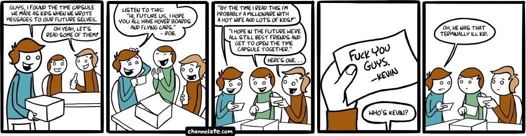 Time capsule.