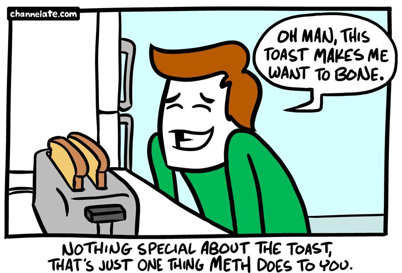Mmmm, toast.