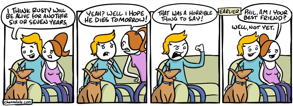 Rusty.