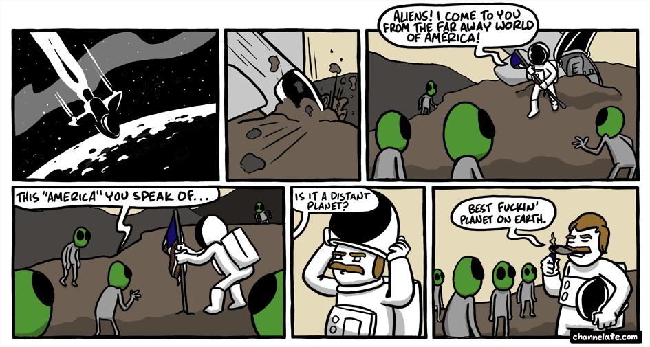 Distant planet.