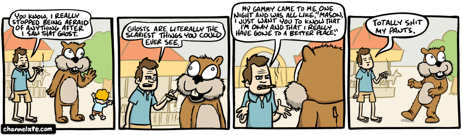 Usually, the harder I laugh while drawing a comic, the more likely it is that I'm the only one laughing.