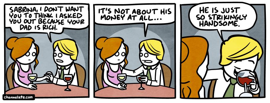 Rich dad.