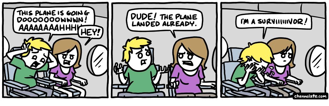 I peed the plane I peed the plaaaaaaaaane!