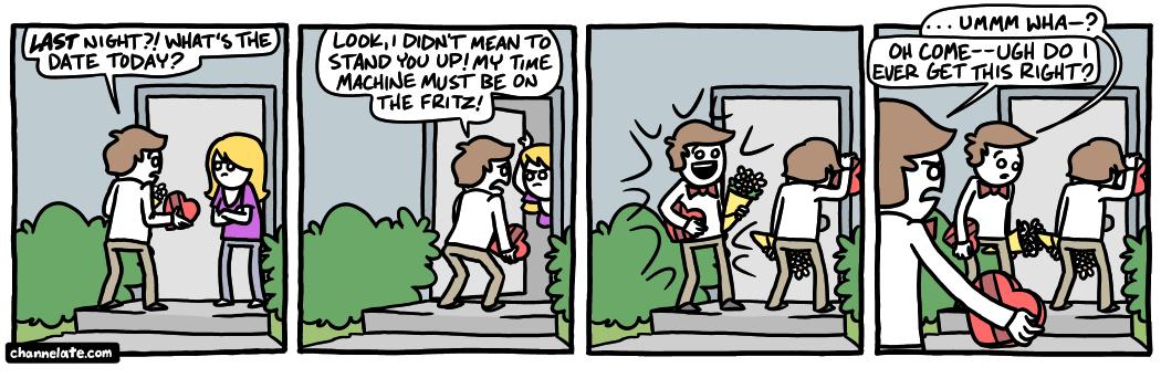 Late.