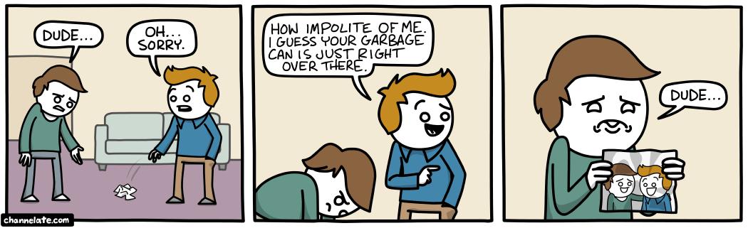 Littering.