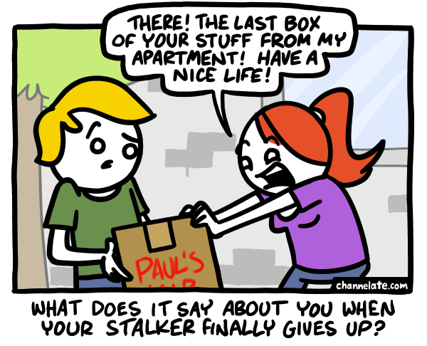Box of your stuff.