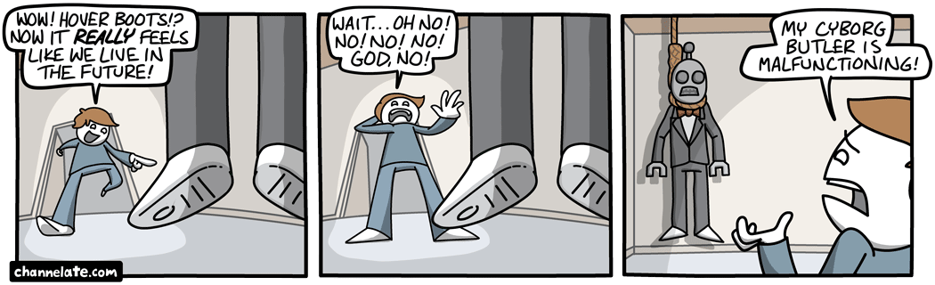 Hover Boots.