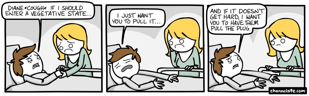 Pull it.