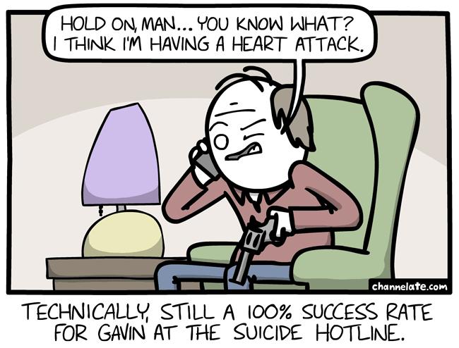 Hold on, man. . .