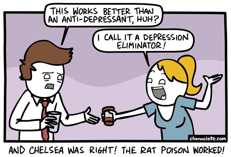 Anti-depressant.