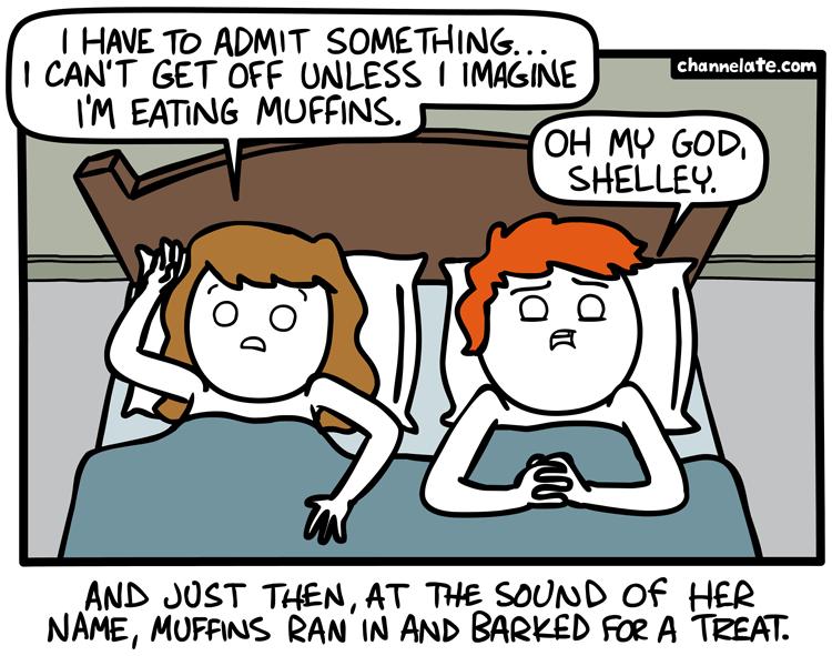 Admit something.
