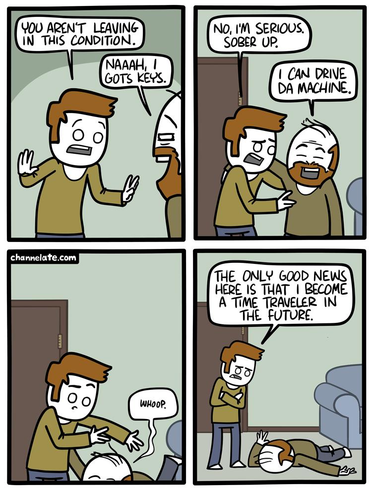 Aren't Leaving.