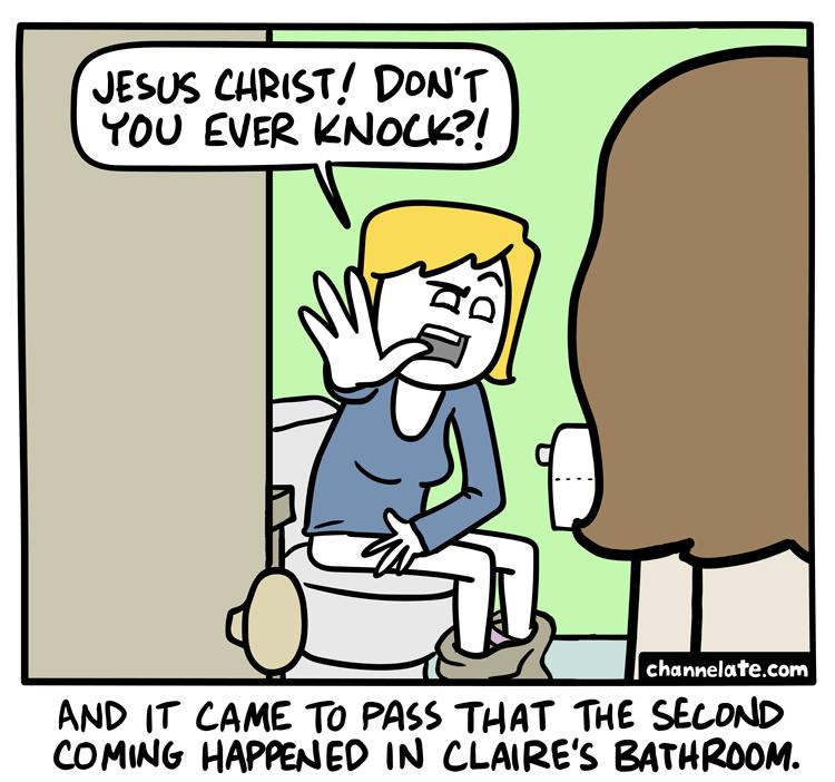Knock.
