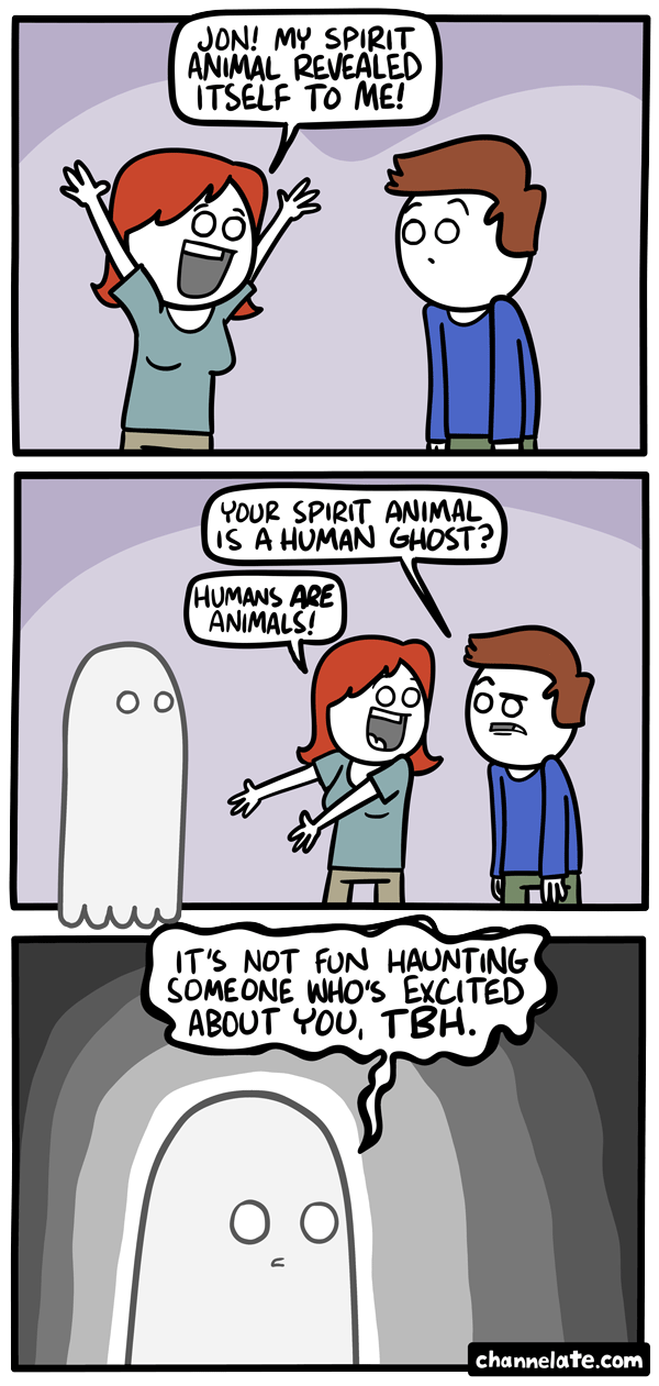Spirit animal.