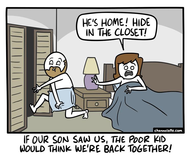 Hide.