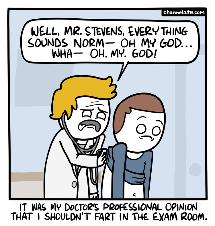 Everything sounds norm….