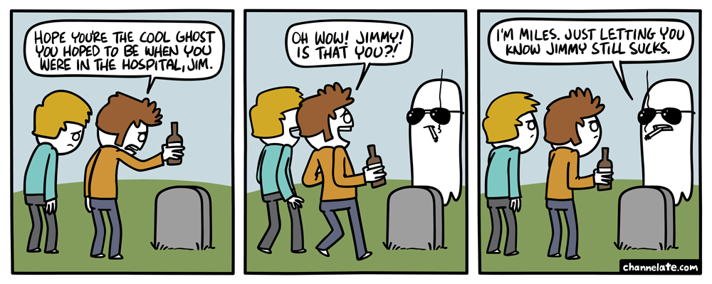 Cool ghost.