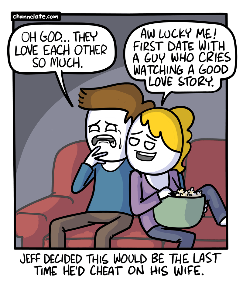 Lucky.